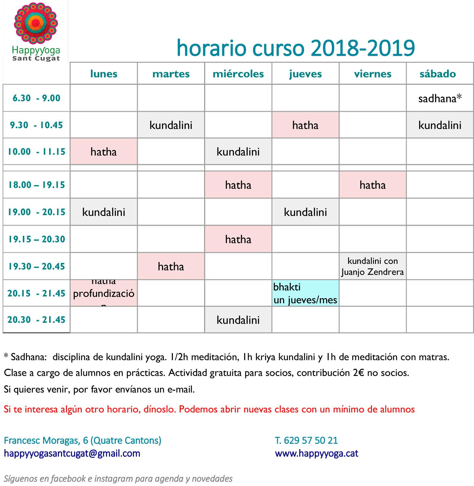 horario-curso-2018-2019-sin-precios