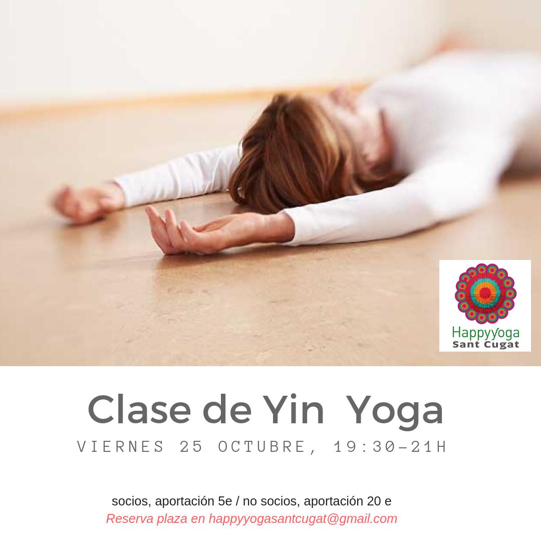 yin yoga 25 oct
